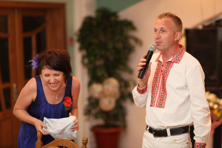 весілля в українському стилі, свадьба в украинском стиле