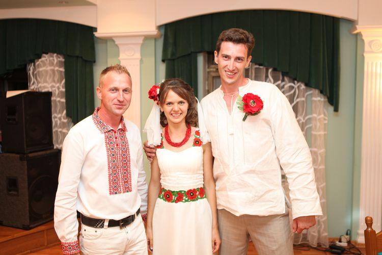 Весілля в новорічну ніч! вгору весілля